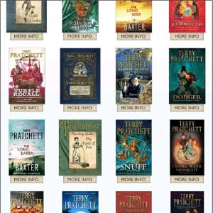 Pratchett-bookshelf