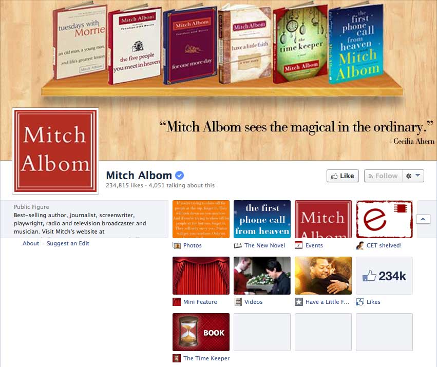 Mitch-Albom-Facebook-Author-Page