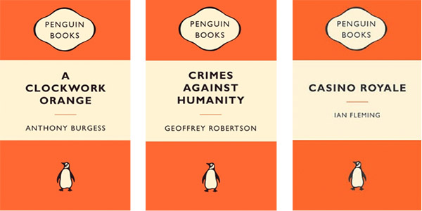 Penguin Book Cover Up : Penguin books debuted on this date in