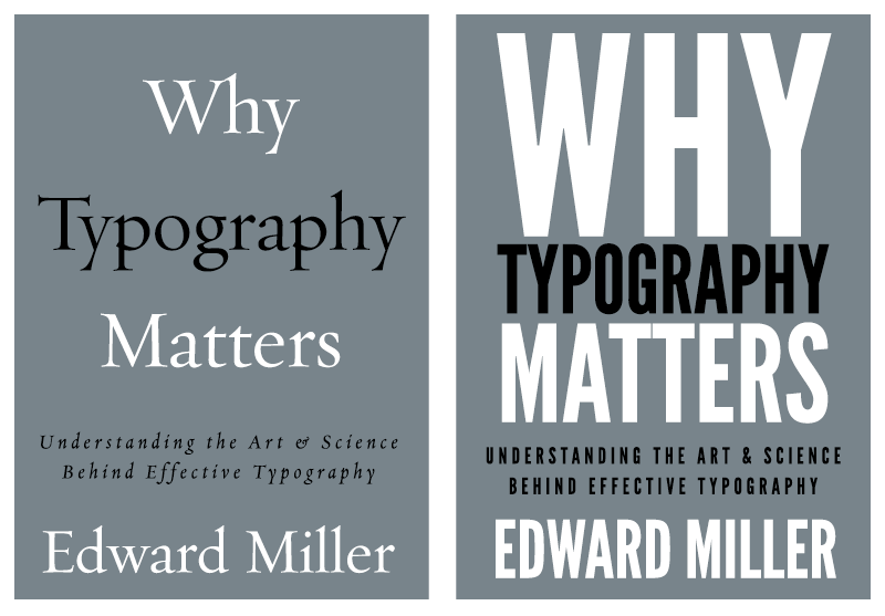 Typographic Book Cover Name : Want to sell more books know your book cover typography