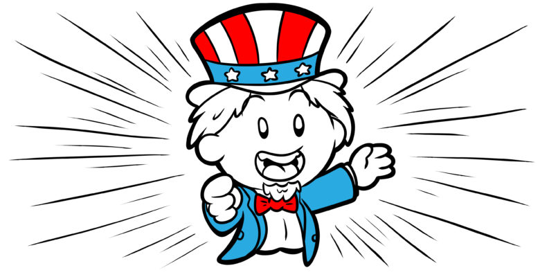 Do YOU Need To Write In The Second Person? - An Uncle Sam type character points out at the reader.