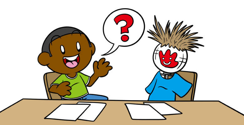 Everything You Need To Know About Working With A Writing Partner - An author speaks to a dummy they've created.