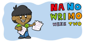 NaNoWriMo Week 2: How To Flesh Out Your Characters and Structure
