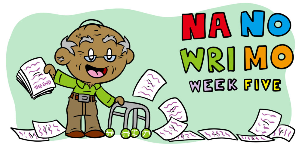 NaNoWriMo Week 5: How To Finish And Edit Your Story