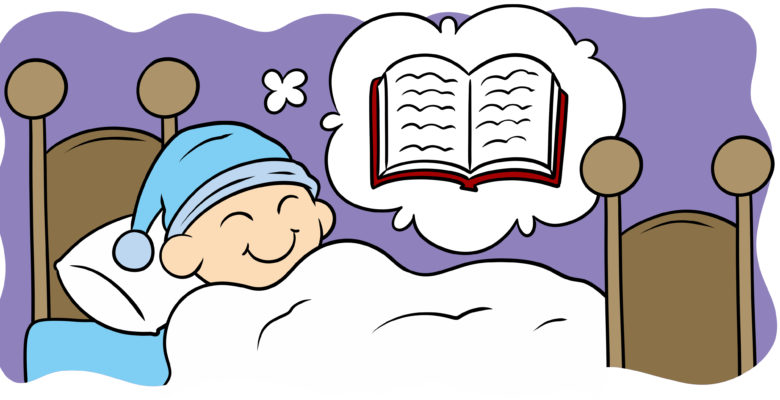 Your Dreams Can Improve Your Writing - An author dreams of a book.