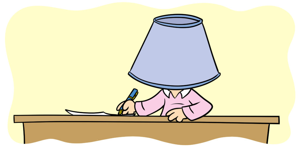 Improve Your Story By Hanging A Lampshade On It
