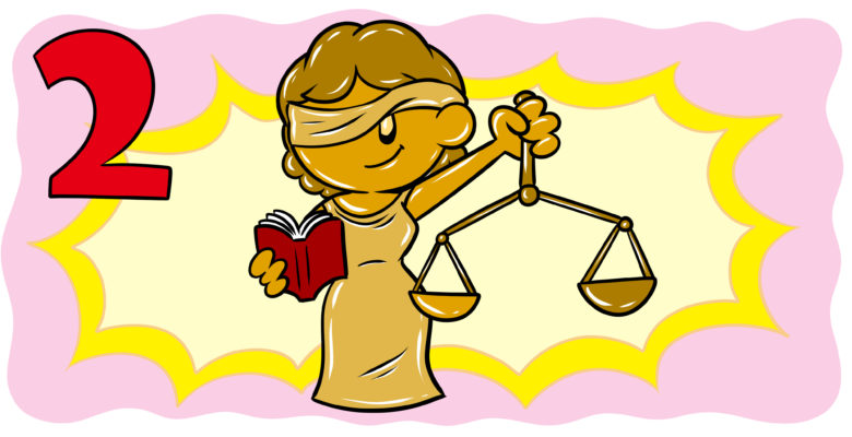 What Authors Need To Know When Writing About Law – Part 2 - Lady Justice grins at the reader.