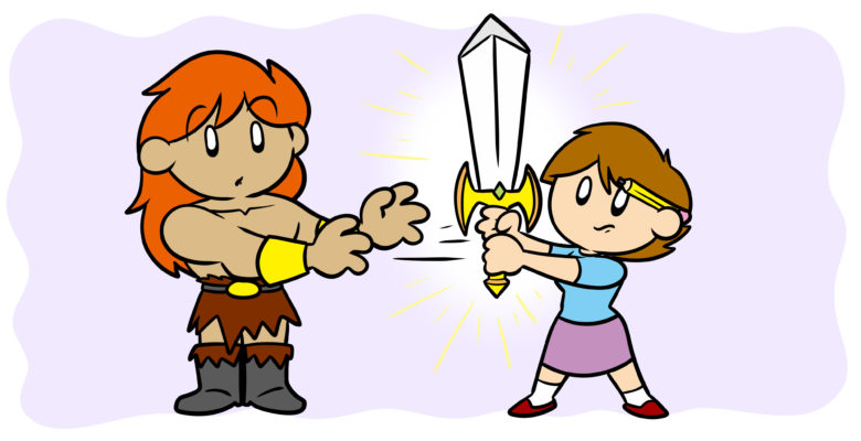 'Retcon': How To Rewrite Details In An Ongoing Series - An author yanks a magic sword from her barbarian hero's hands.