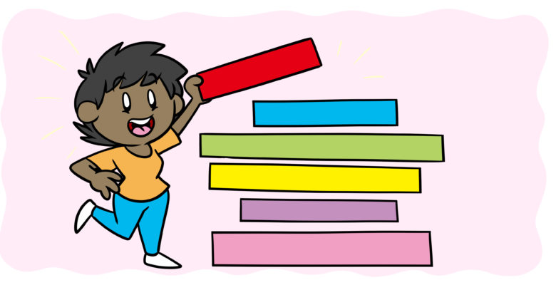 Layering Is The Secret To Crafting A Stronger Plot - An author layers colored rectangles into a tower.