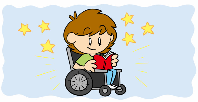 What's A Sensitivity Reader, And Do You Need One? - A reader in a wheelchair enjoys a book.