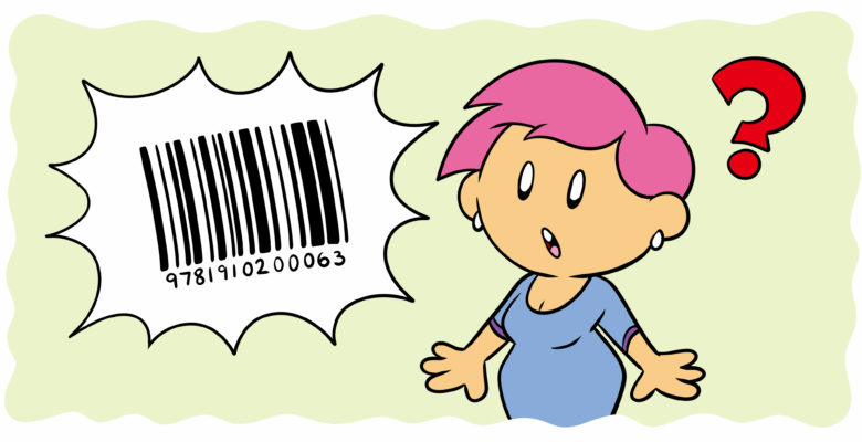 What Is An ISBN And How Do I Get One? - A barcode appears in the air and an author reacts in shock.