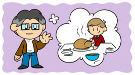 Jonathan Franzen Can Help You Improve Your Writing (No, Really!) - Jonathan Franzen waves at the reader, imagining a person serving turkey.