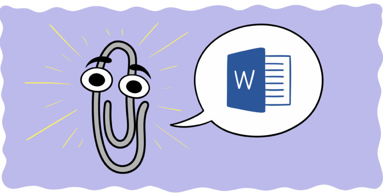 If You Write In MS Word, You Need To Know About These 6 Features - A character who looks like Microsoft's 'Clippy' explains MS Word.